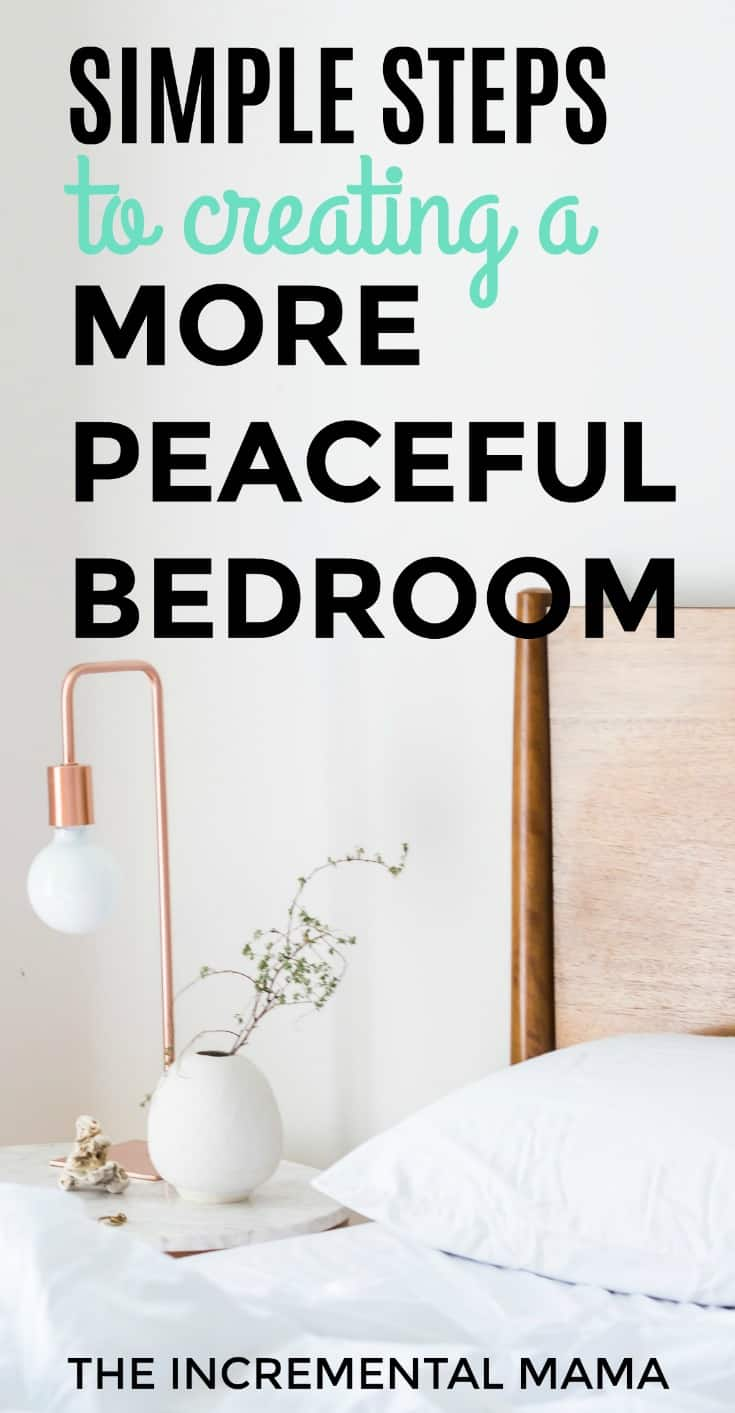 Create apeaceful bedroom for moms