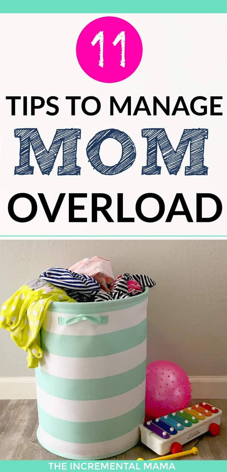 11 Tips to Survive Motherhood of Small Kids and Avoid Overwhelm