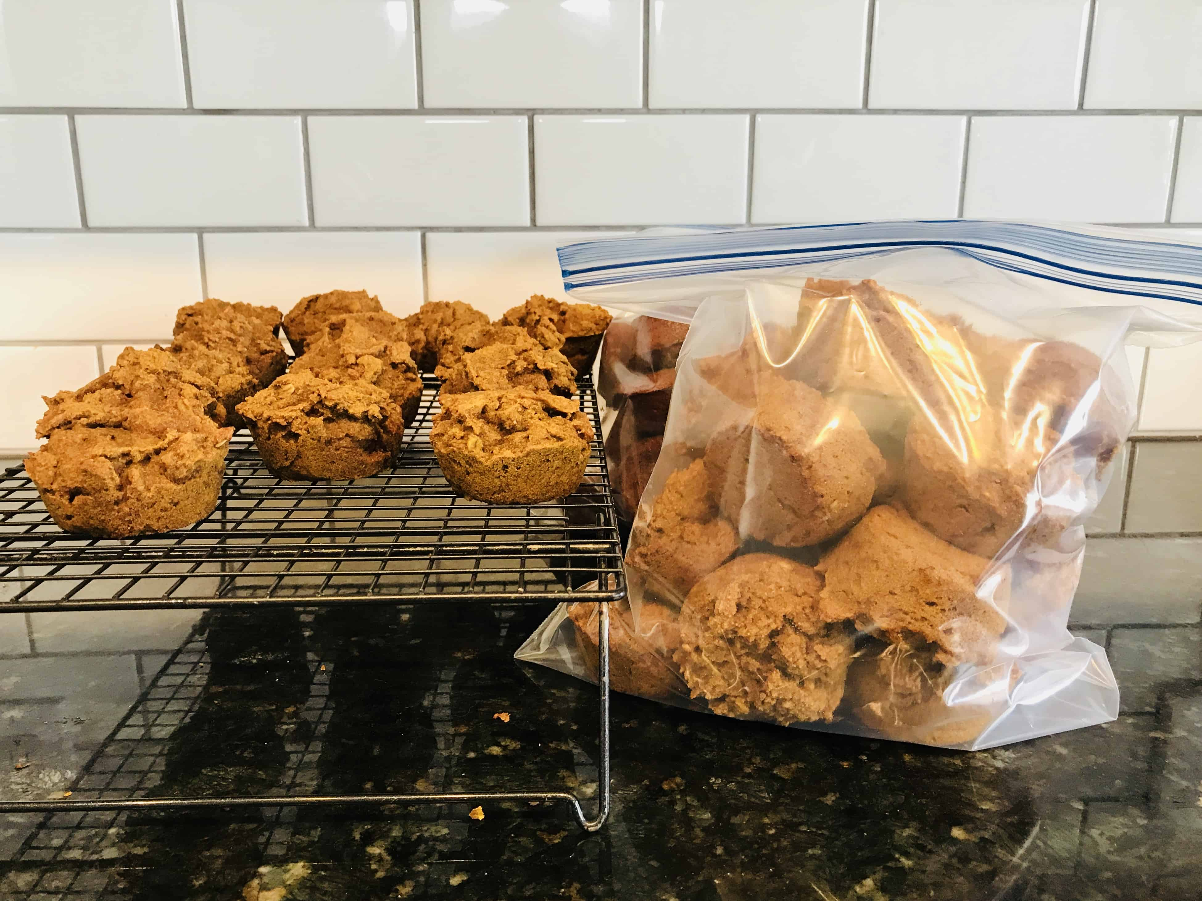 Meal prep muffins