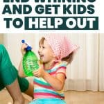 Get kids to help around the house