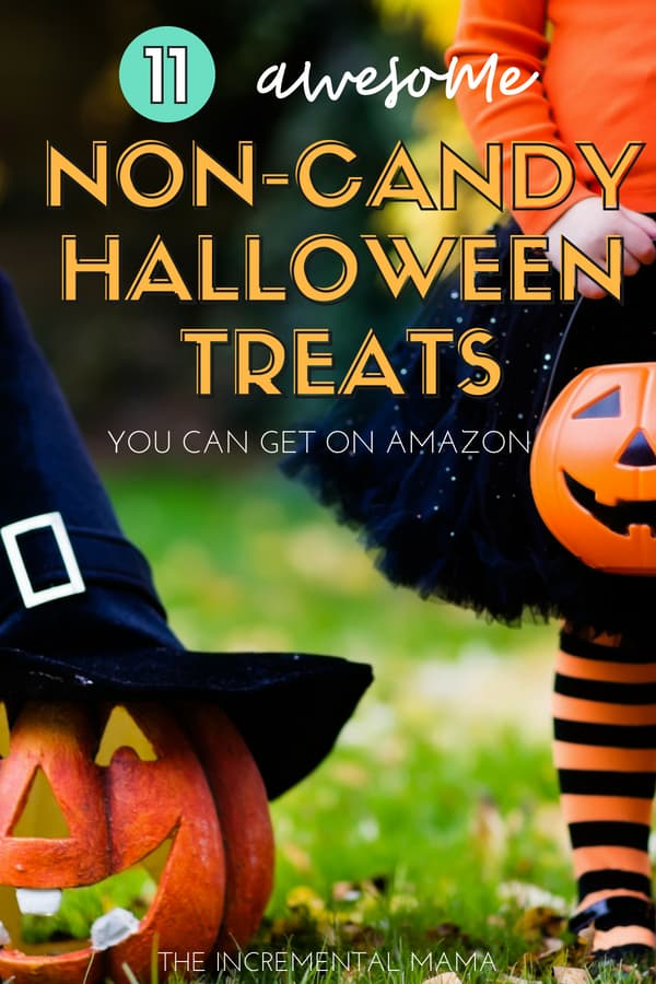 11 Non-Candy Halloween Treat Ideas For Kids #halloween