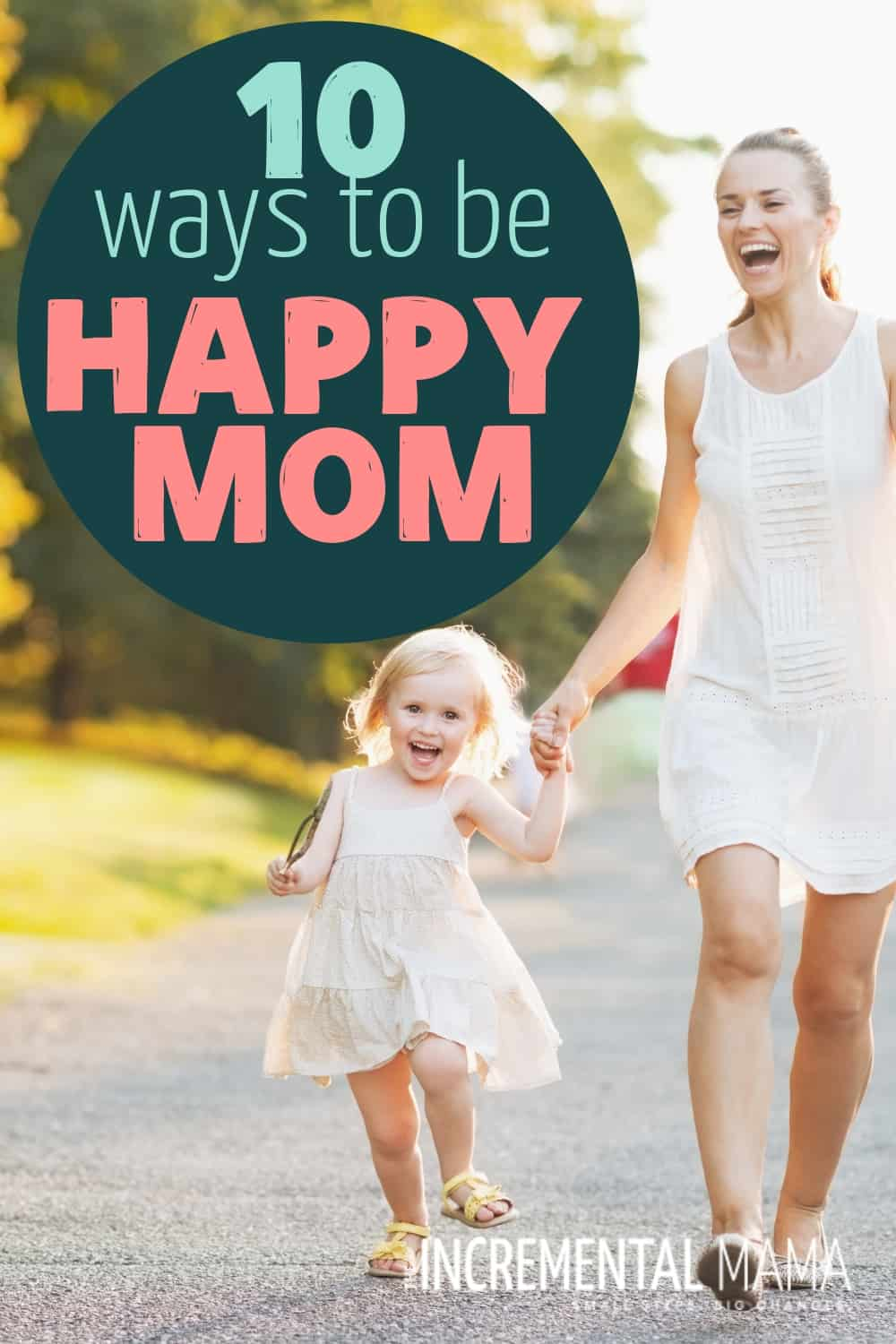 Overcome drudgery and overwhelm with these 10 quick and easy daily routines to be a happy mom. #beahappymom #tipsformomsofyoungchildren #momroutine