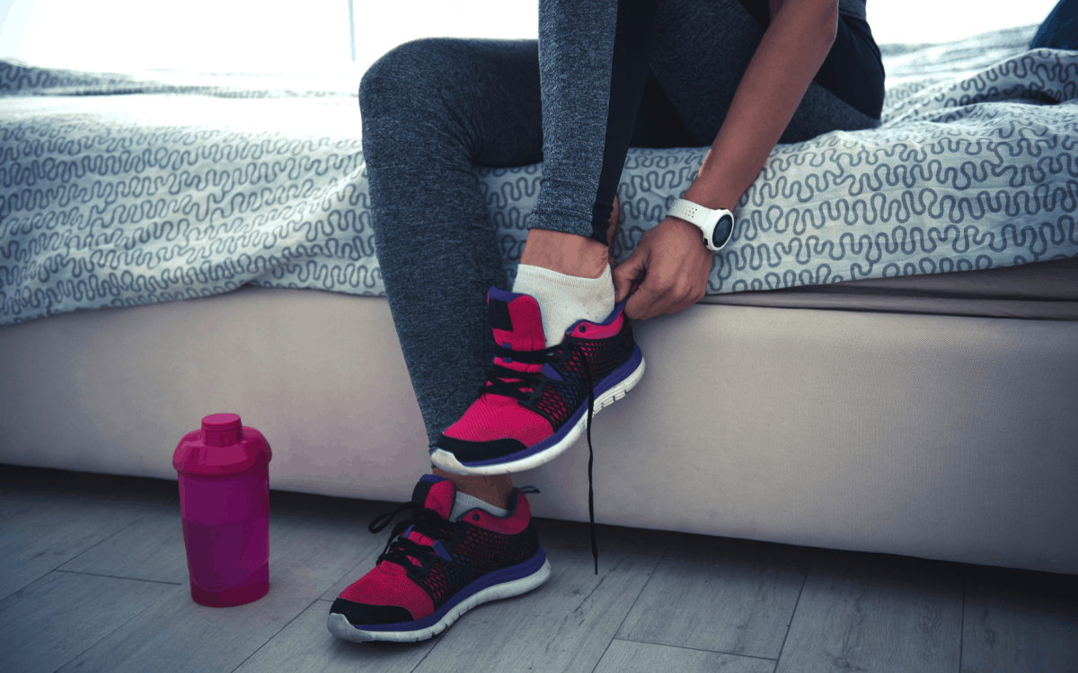 when do working moms exercise?
