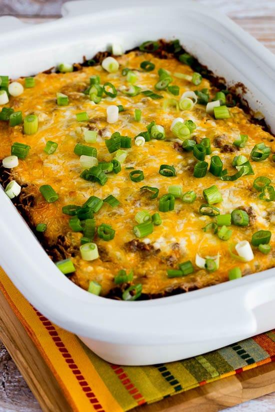 slow cooker low carb lasagna