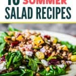 healthy and easy summer salad recipes