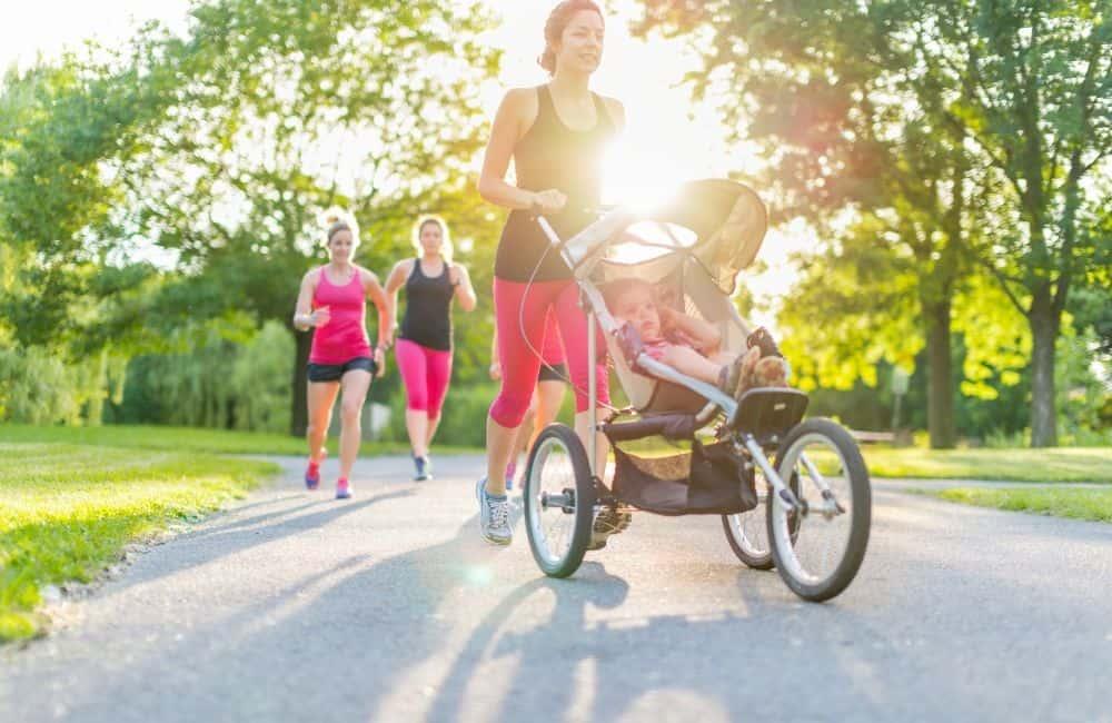 morning run for moms