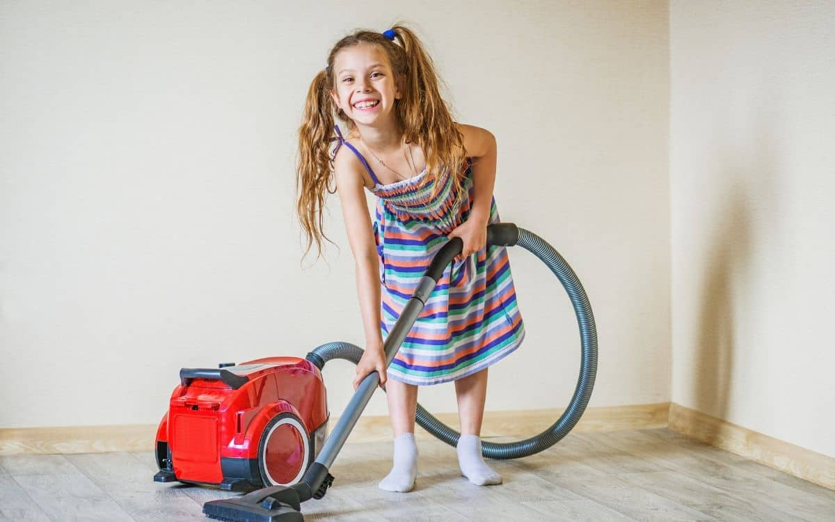 how to get kids to do chores - make it fun