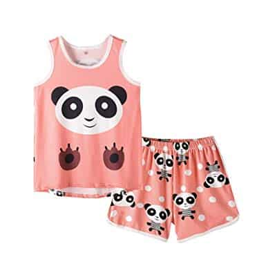 panda pajamas for summer