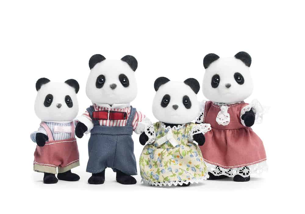 best panda gifts- calico critter panda family