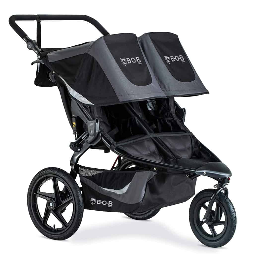 best double running stroller