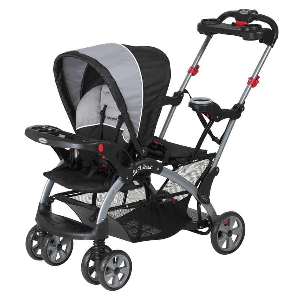 best sit and stand stroller baby trend