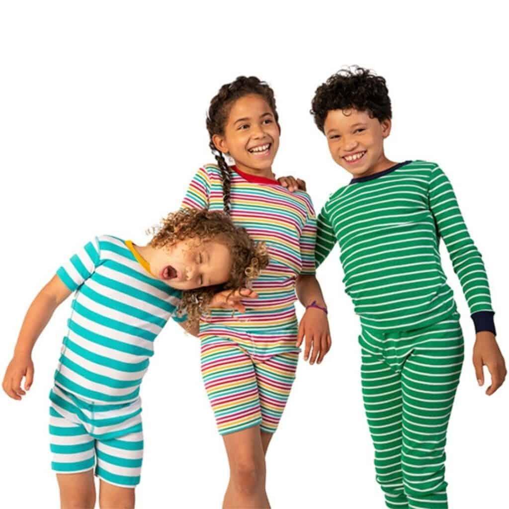 mightly striped pajamas