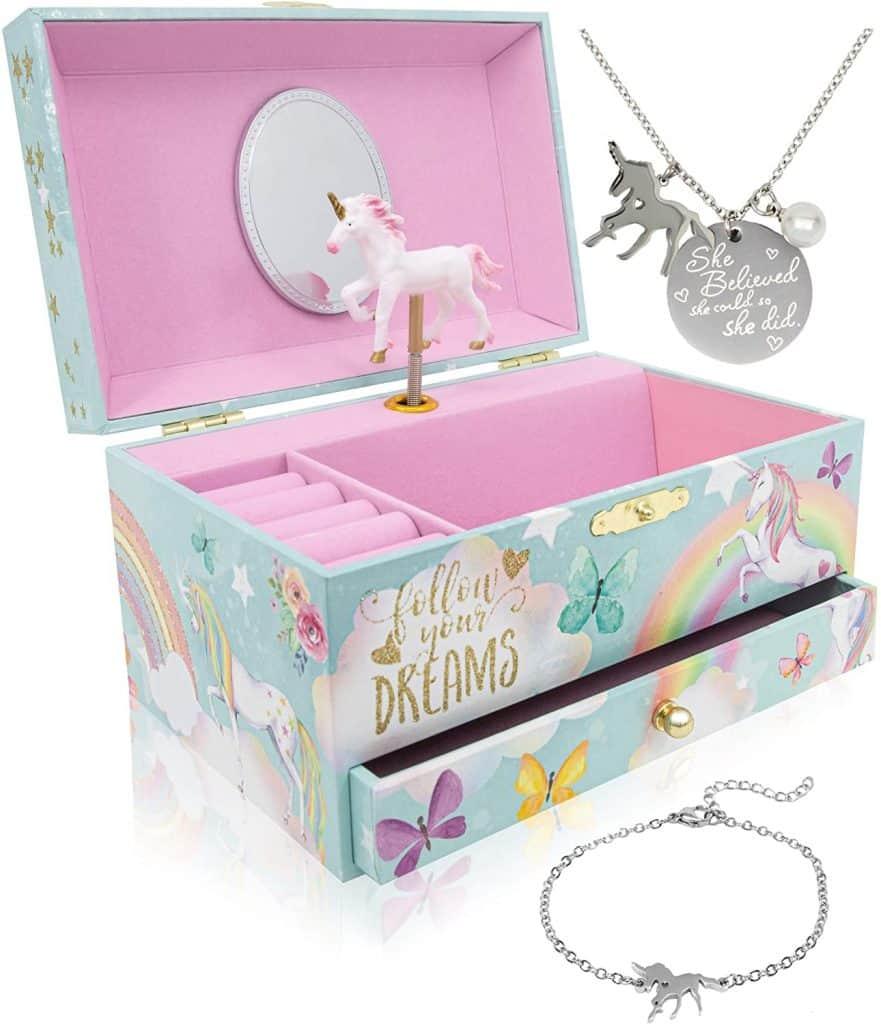 Unicorn Music & Jewelry box