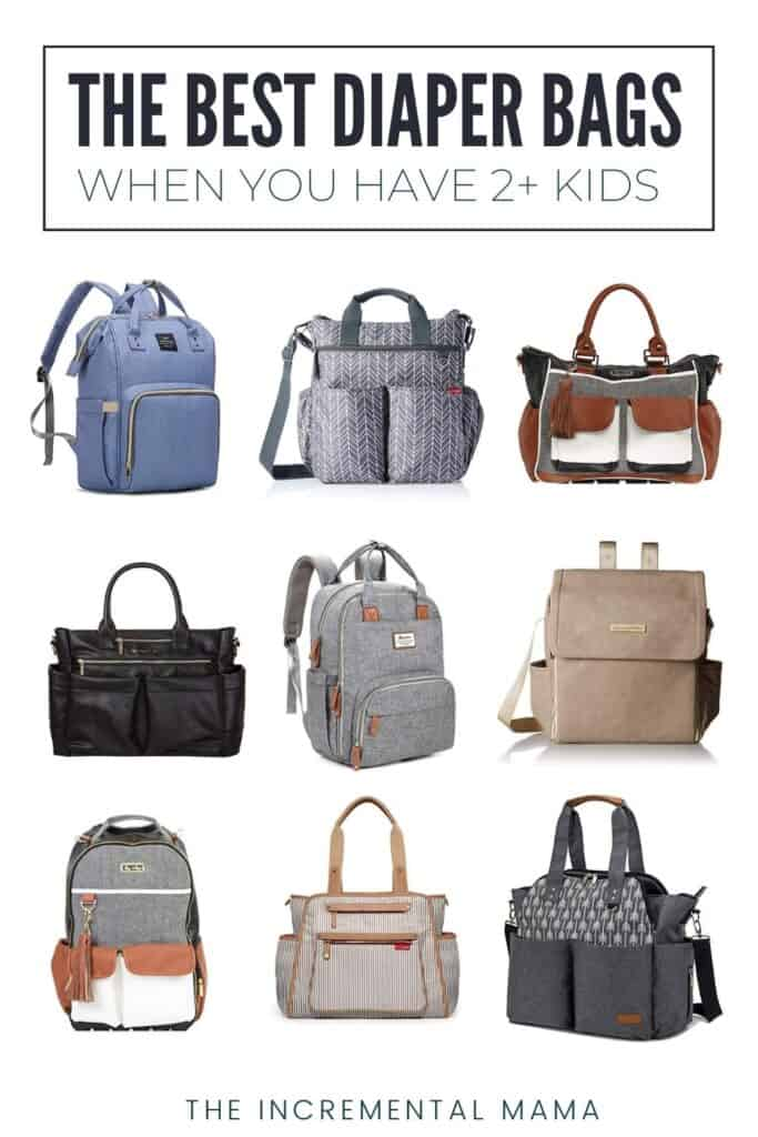 best diaper bag for mom of 2 or more kids