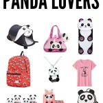 panda gifts for girls