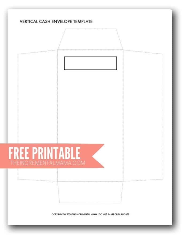 free printable cash envelope pdf