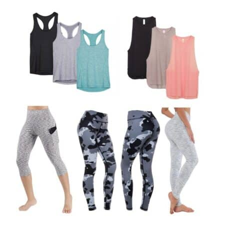 best inexpensive workout clothes
