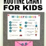 Chores ideas for 5 year old