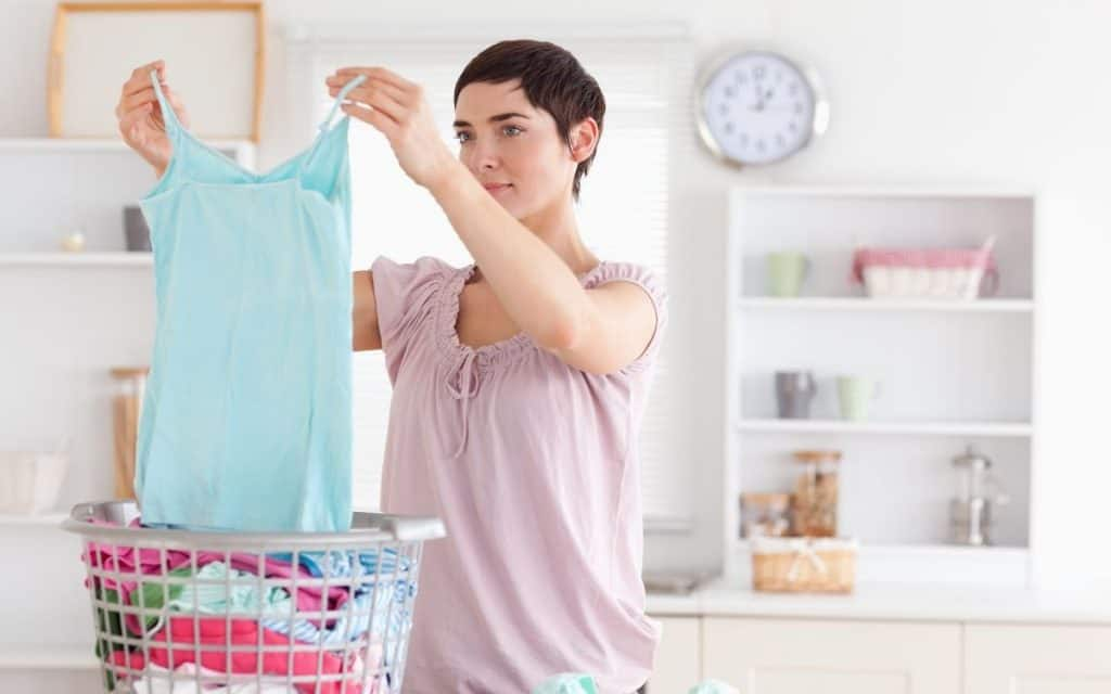 laundry routine for clean and tidy home