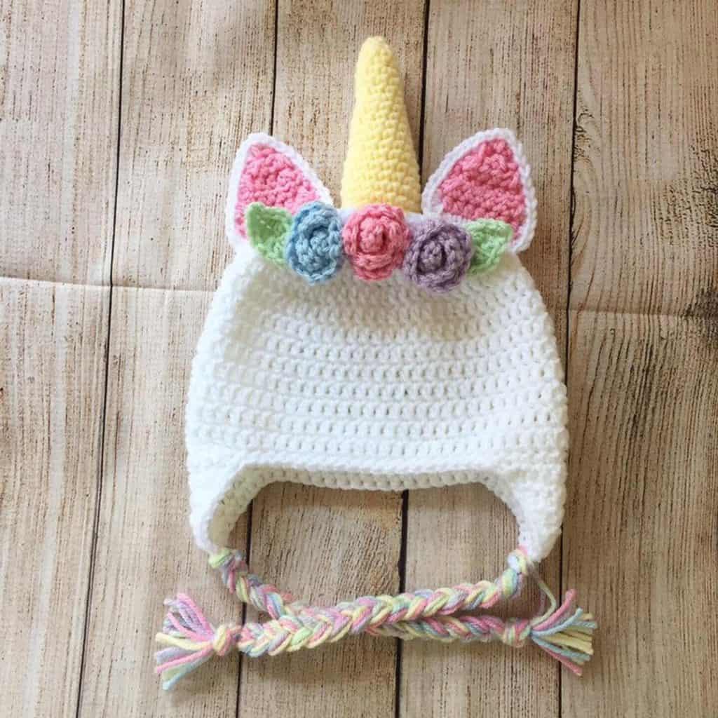 unicorn beanie for girls