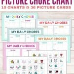 picture chore chart for toddlers