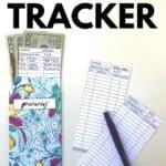 cash tracker printable