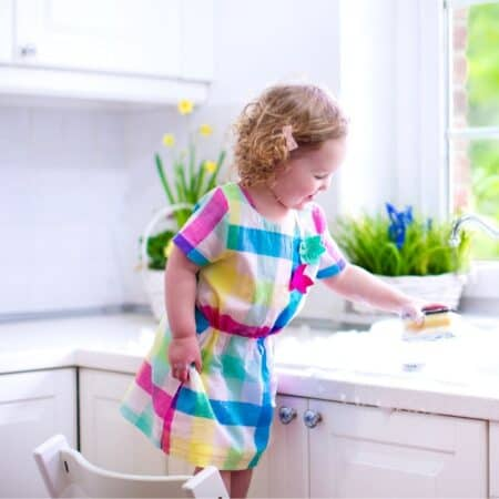 get kids to do chores without being asked