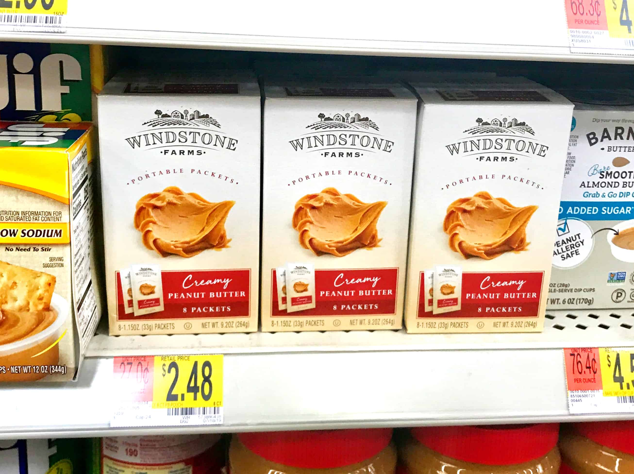 windstone farms peanut butter at walmart