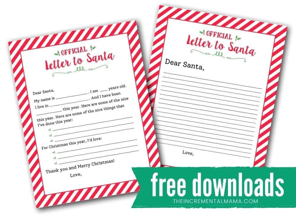 blank letter to santa pdf