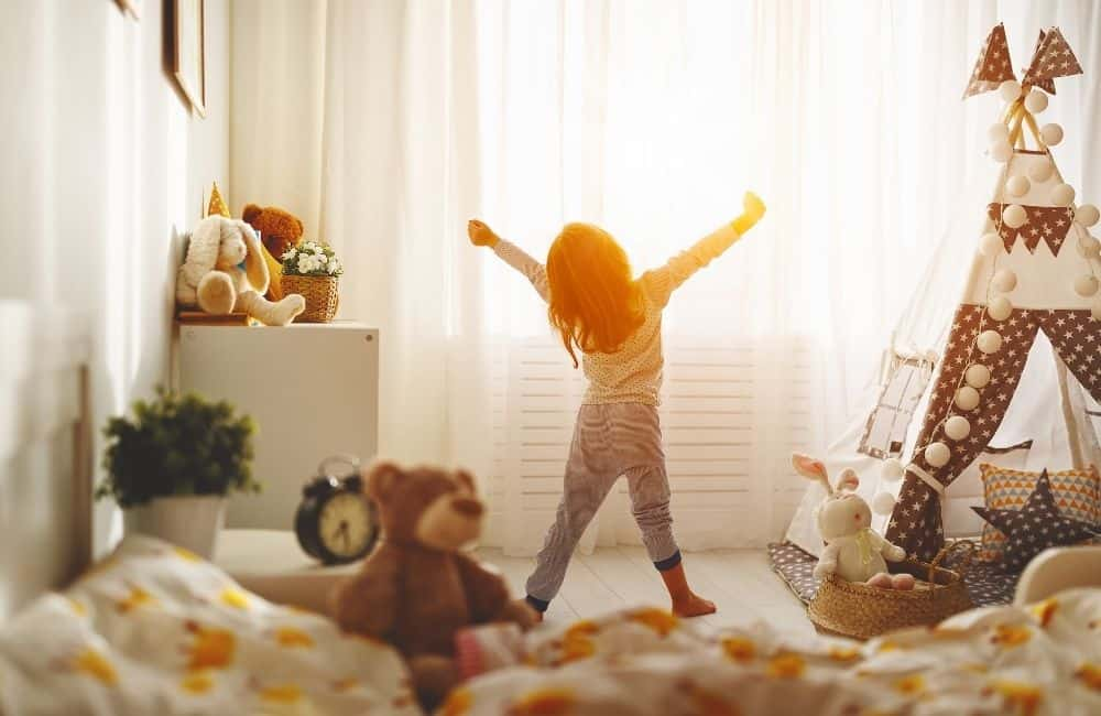 morning routine with kids