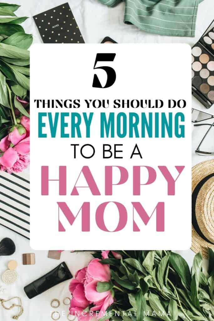 mom daily routine