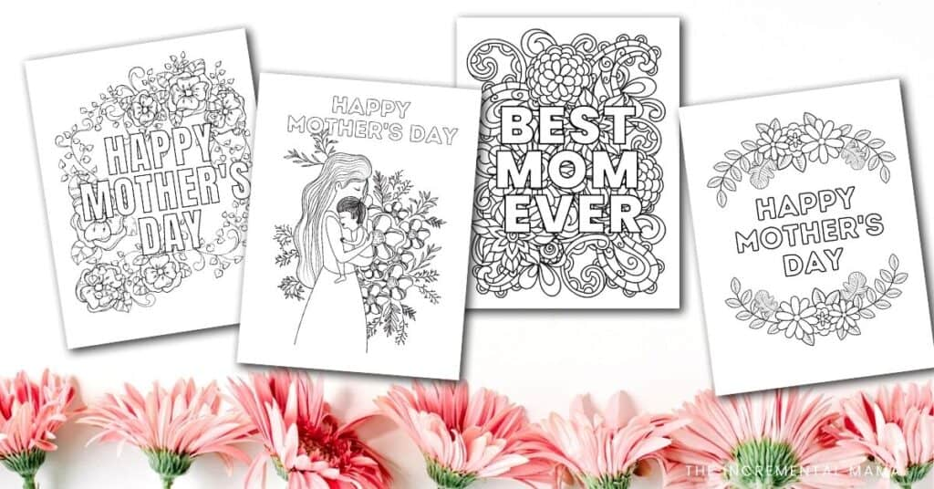 pdf Mother's Day printables