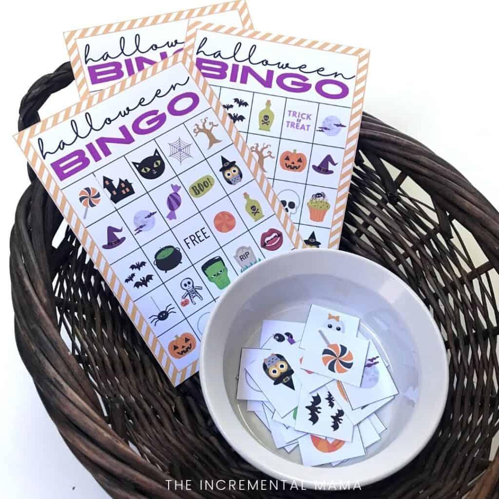 20 halloween bingo cards