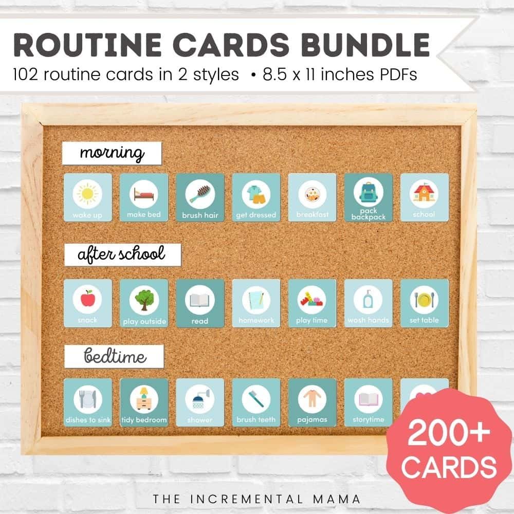 routine cards for kids