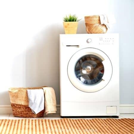 large family laundry routine