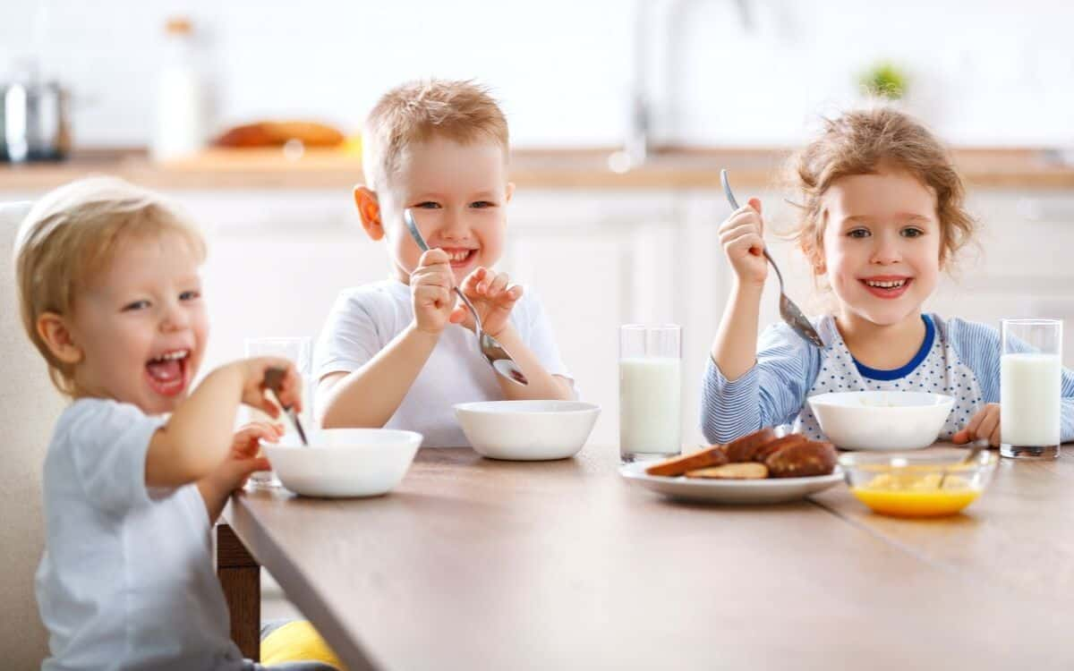 get kids to eat healthy food