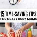 time saving tips for moms